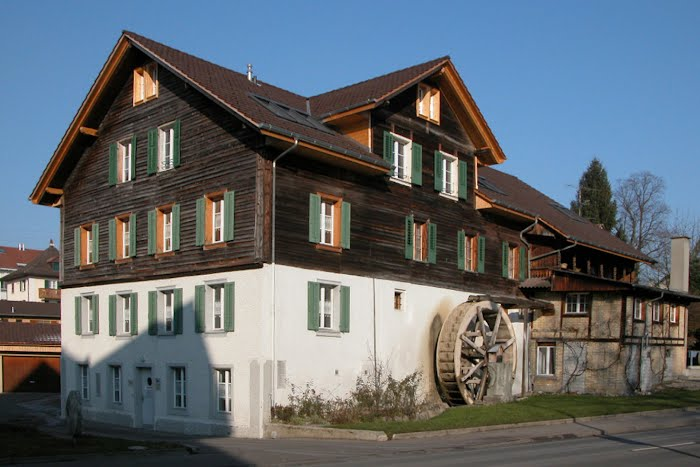 Neubau Mühlerad, Ausbau Dachstock