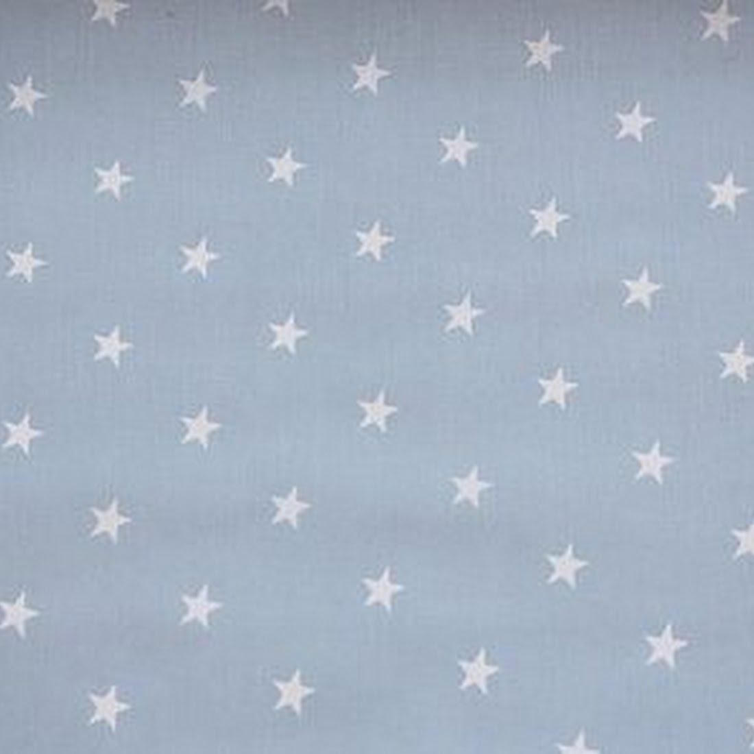 Beschichtete Baumwolle - Star Light Blue
