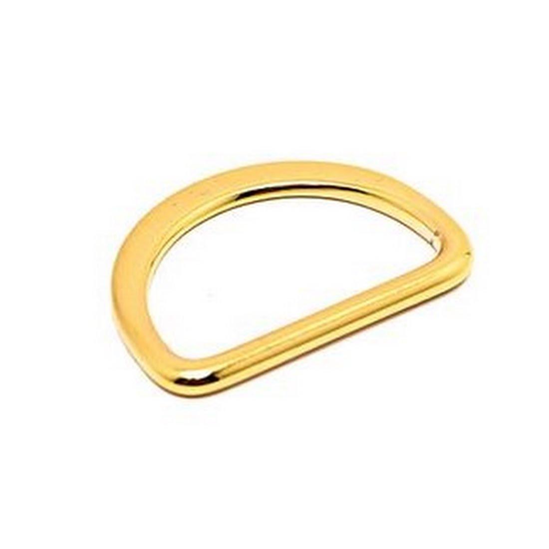 Taschenzubehör - 38mm D-Ring GOLD