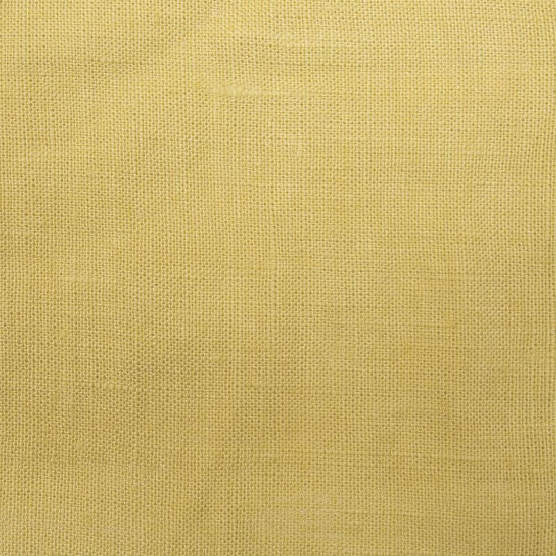 Beschichteter Leinen  - Basic Dusty Yellow