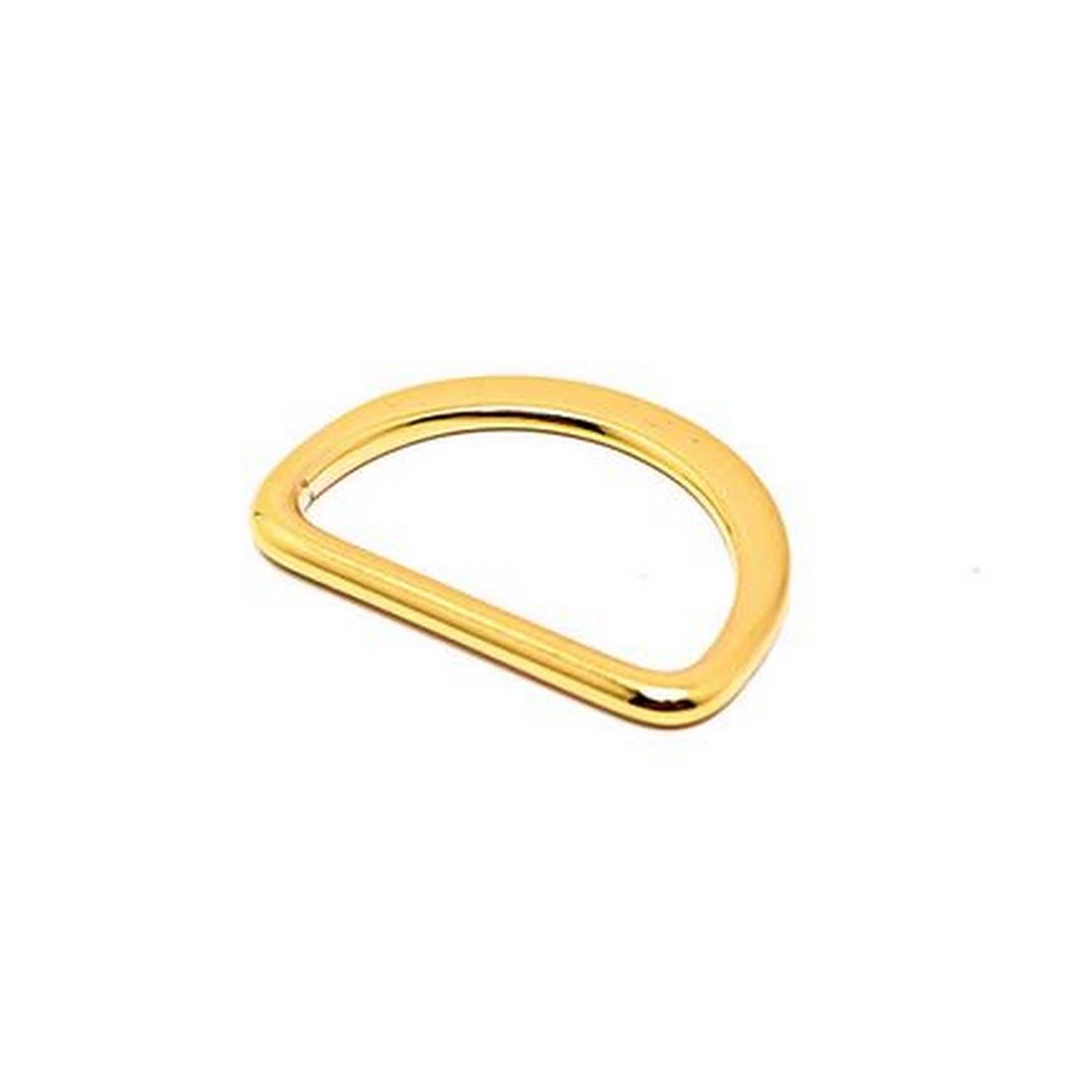 Taschenzubehör - 25mm D-Ring GOLD