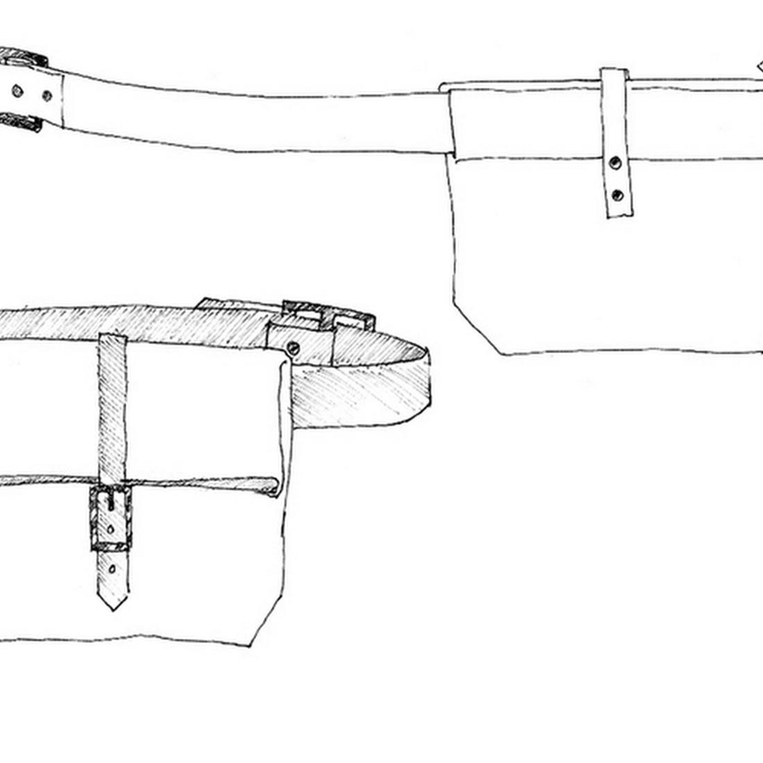 Schnittmuster & Zubehör - Schnittmuster Field Belt