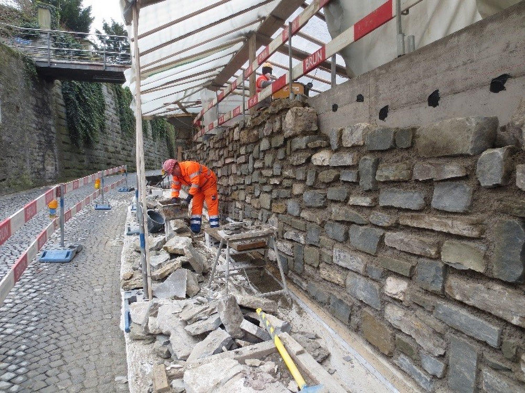 Sanierung Stützmauer Adligenswilerstrasse