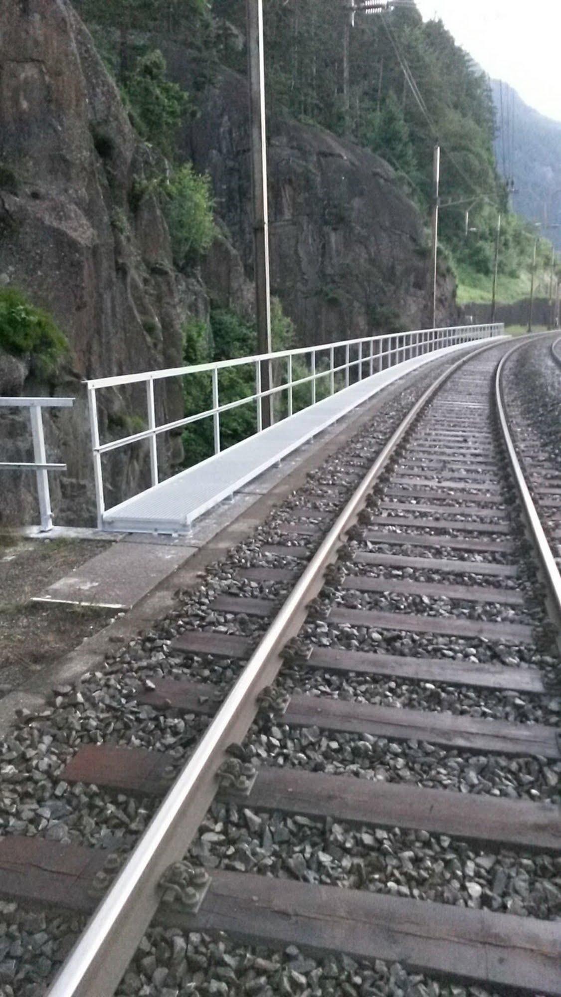 Neubau Dienststeg SBB-Brücke