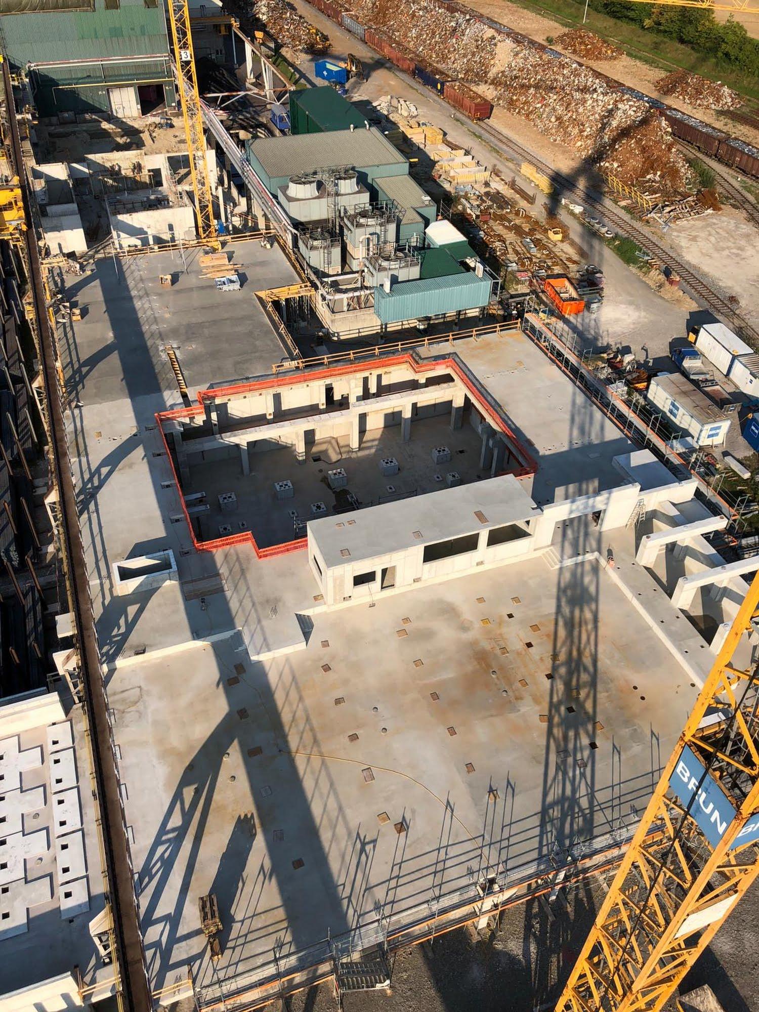 Erweiterung Hubbalkenofen Swiss Steel AG