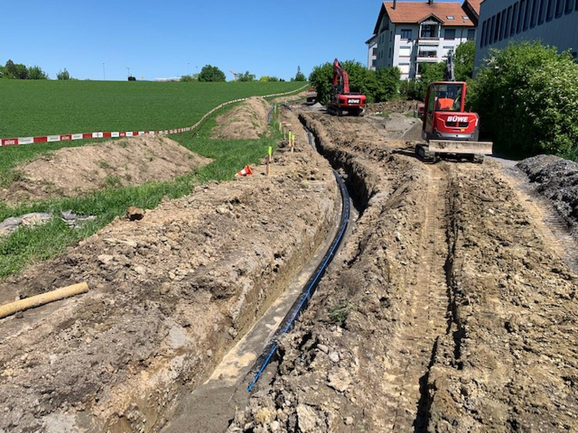 Fuss- & Radweg Kirchbühl