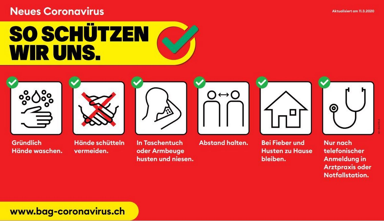 Coronavirus - Betrieb gewährleistet