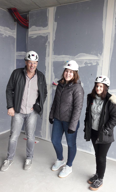 Frauenpower auf der Baustelle!