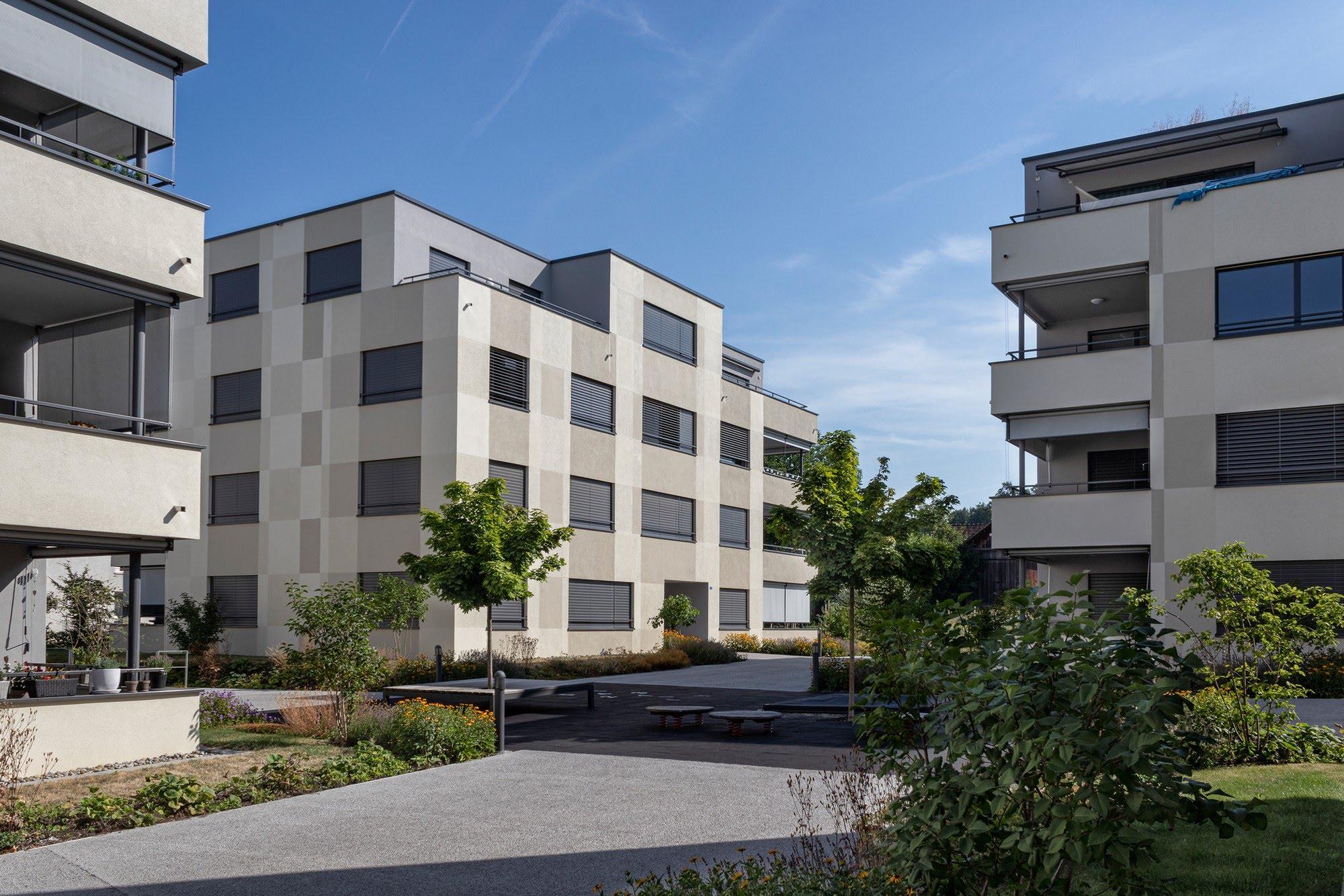 Wohnungsbau Überbauung Stehli Areal