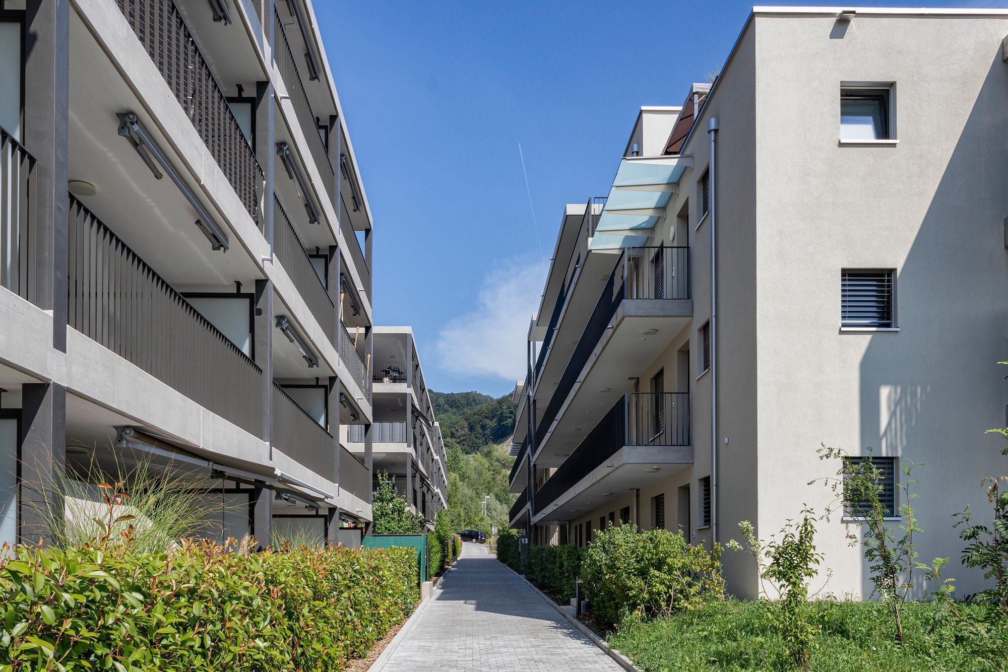 Wohnungsbau 5 MFH Schlossblick