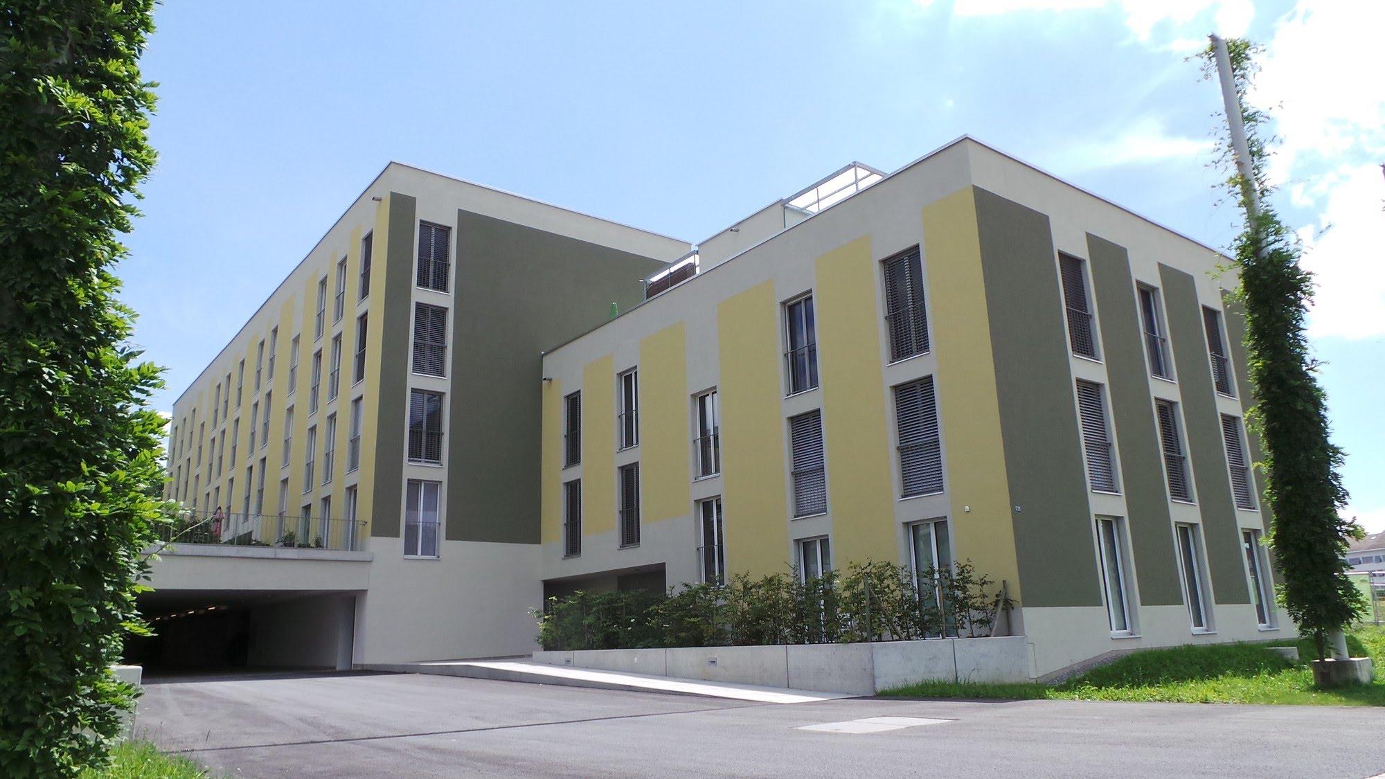 Wohnungsbau,Wohnungsbau,Aussenwärmedämmung,Gipserarbeiten MFH Hofstetterfeld Baufeld 10