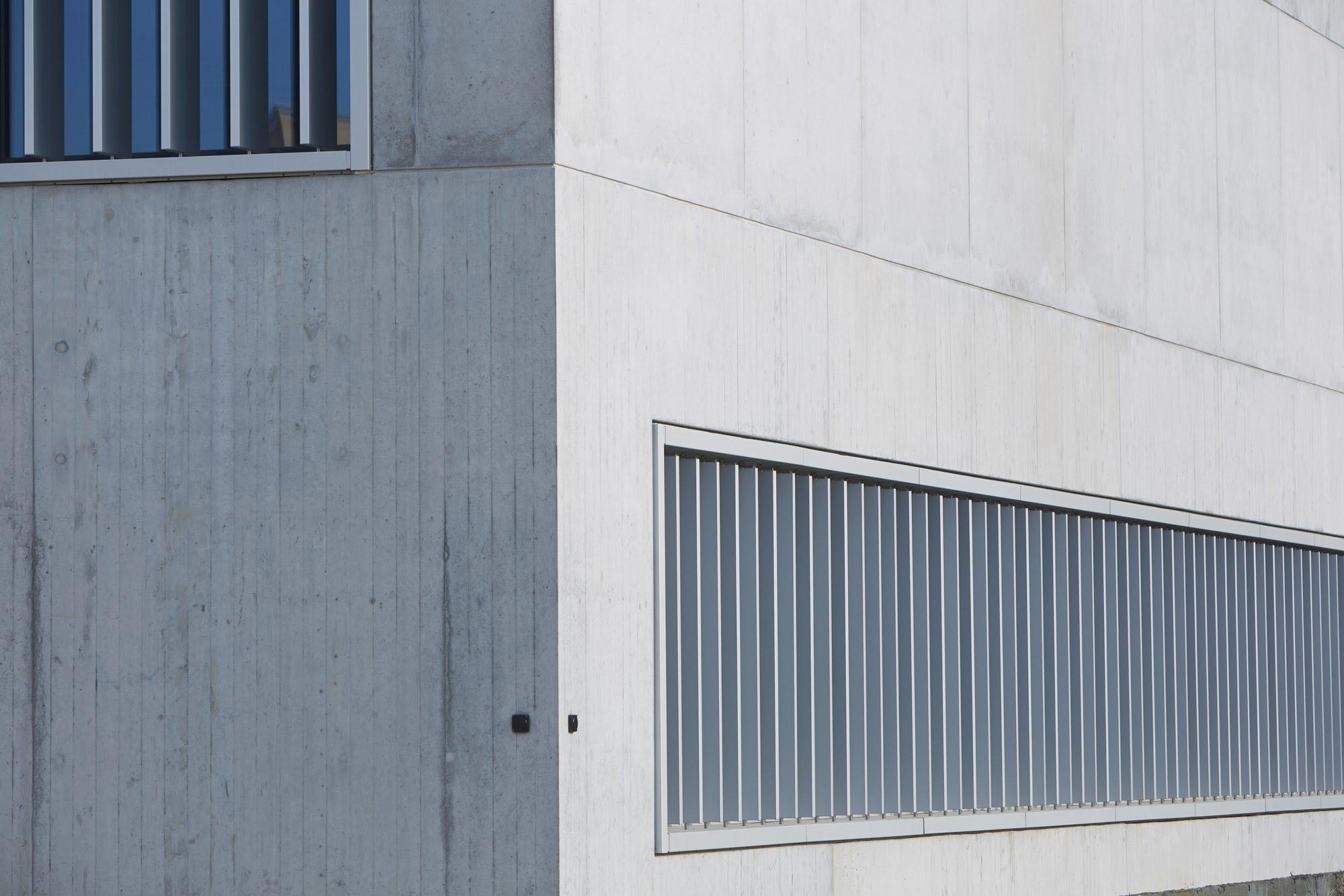Öffentliche Bauten,Sichtbeton Schulanlage Oberkirch