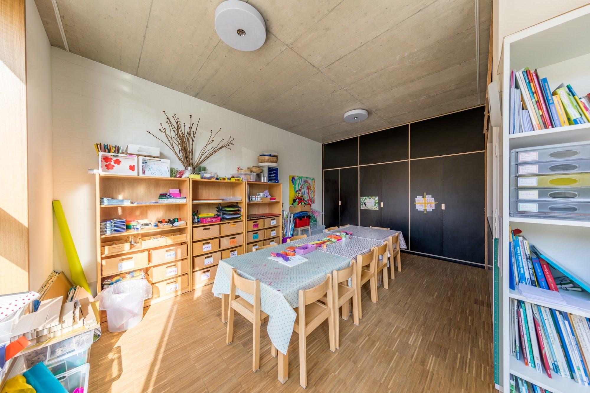 Industrie / Gewerbebau,Gipserarbeiten,Öffentliche Bauten,Akustiksysteme Neubau Kindergarten