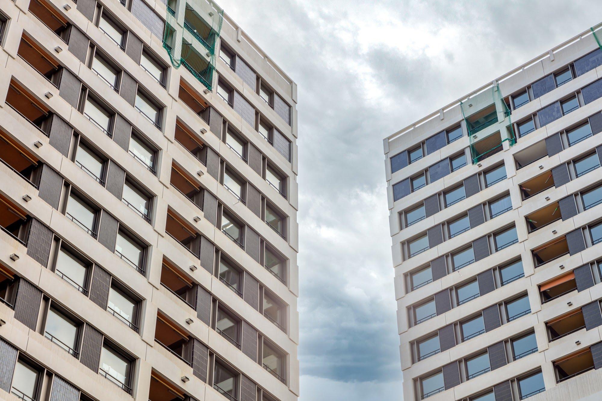Wohnungsbau,Industrie / Gewerbebau,Spez. Gipserarbeiten Hochhaus WolkenWerk