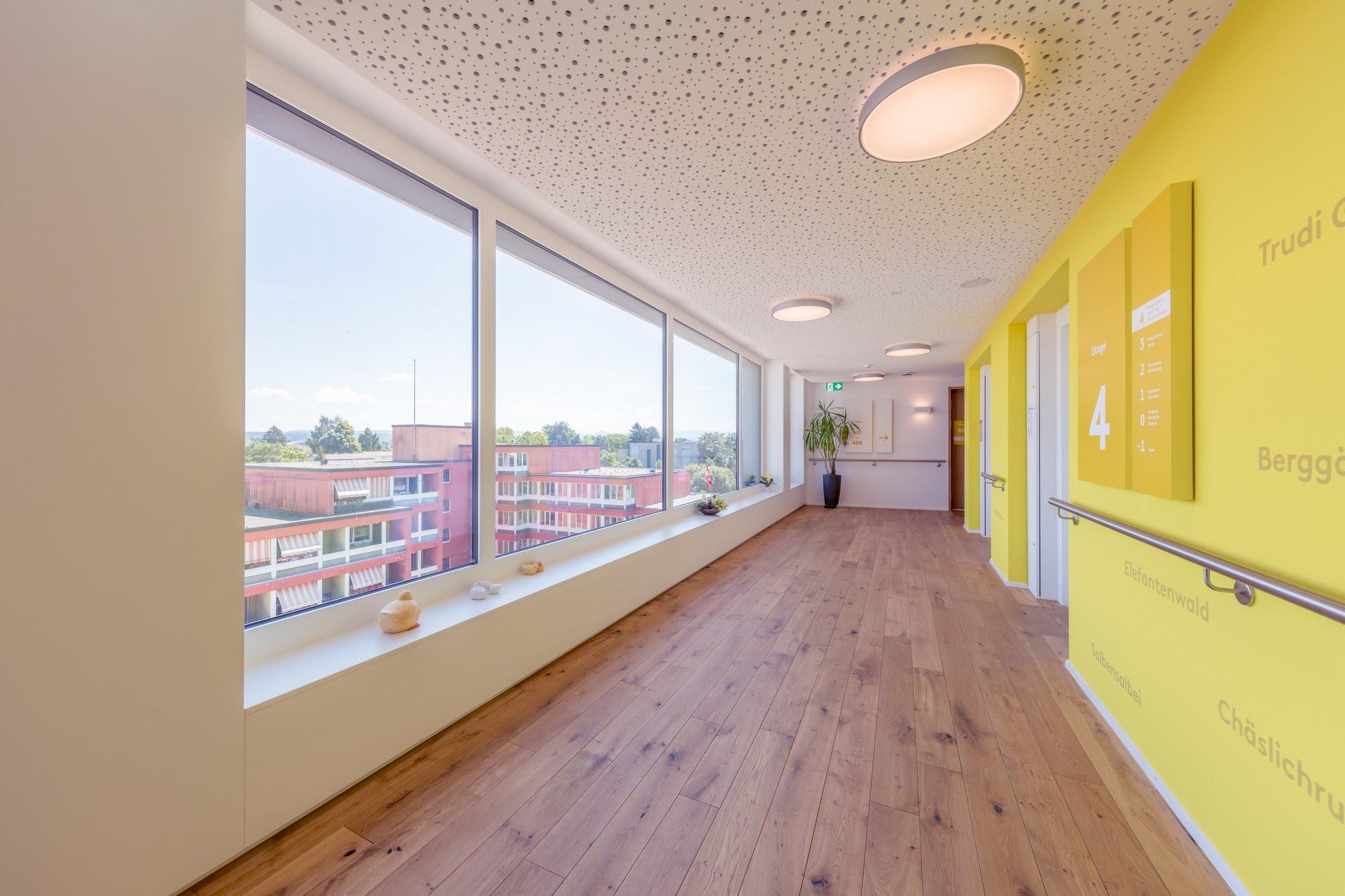 Wohnungsbau,Spez. Gipserarbeiten,Öffentliche Bauten,Akustiksysteme Erweiterung Alters- und Spitexzentrum
