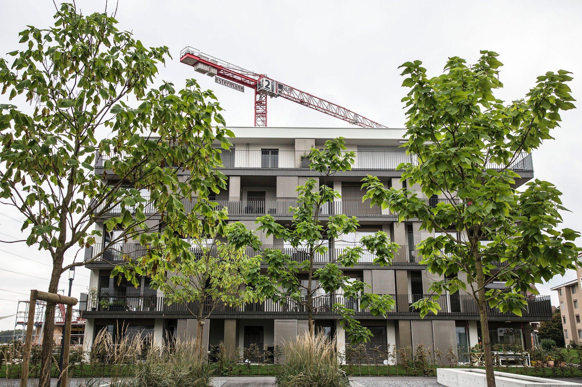 Wohnungsbau Überbauung Feldheim 1. Etappe
