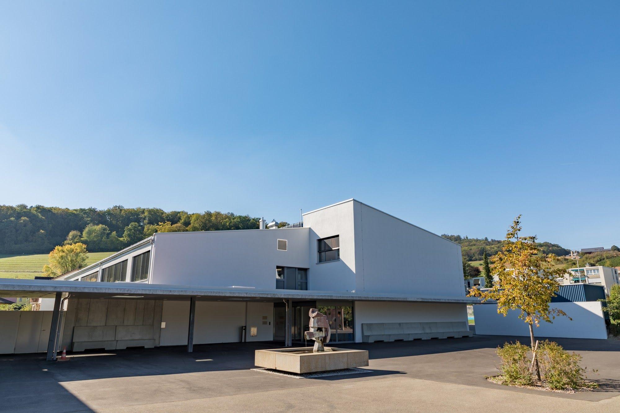 Industrie / Gewerbebau,Spez. Gipserarbeiten,Öffentliche Bauten Sanierung Schulhaus Mühlematt 1