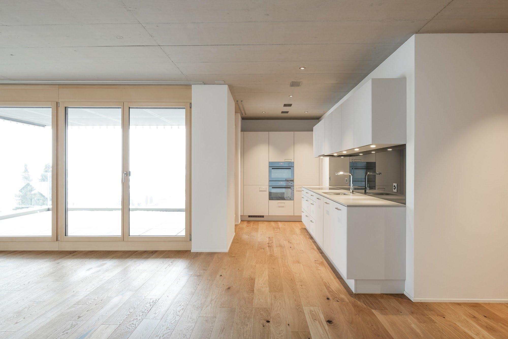 Wohnen MFH,Gewerbe Büro- und Wohngebäude in Schenkon Architektur,Wohnungsbau,Wohnhäuser,Einfamilienhäuser,Mehrfamilienhäuser