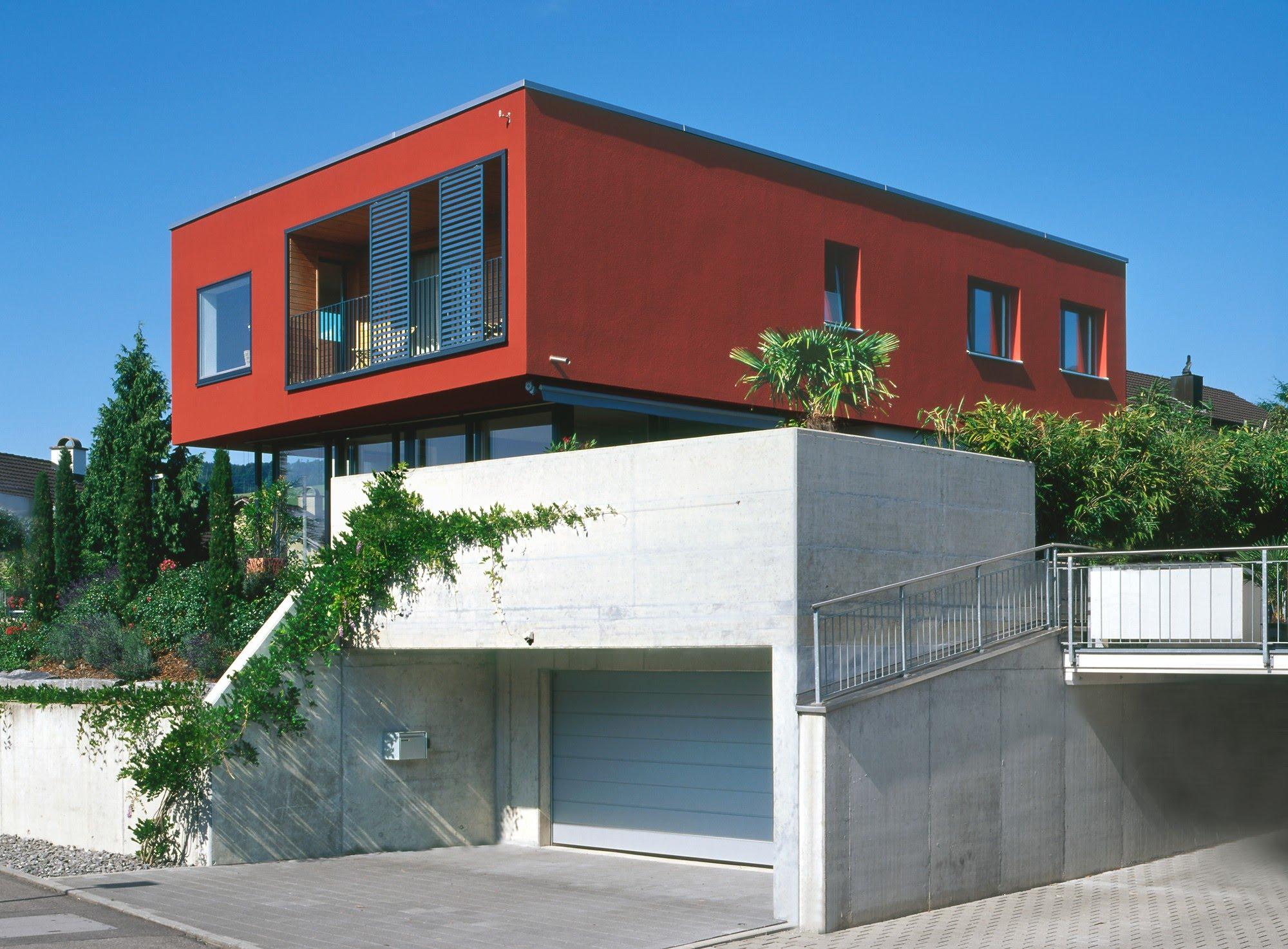 Wohnen EFH EFH im Hubel Architektur,Wohnungsbau,Wohnhäuser,Einfamilienhäuser,Mehrfamilienhäuser