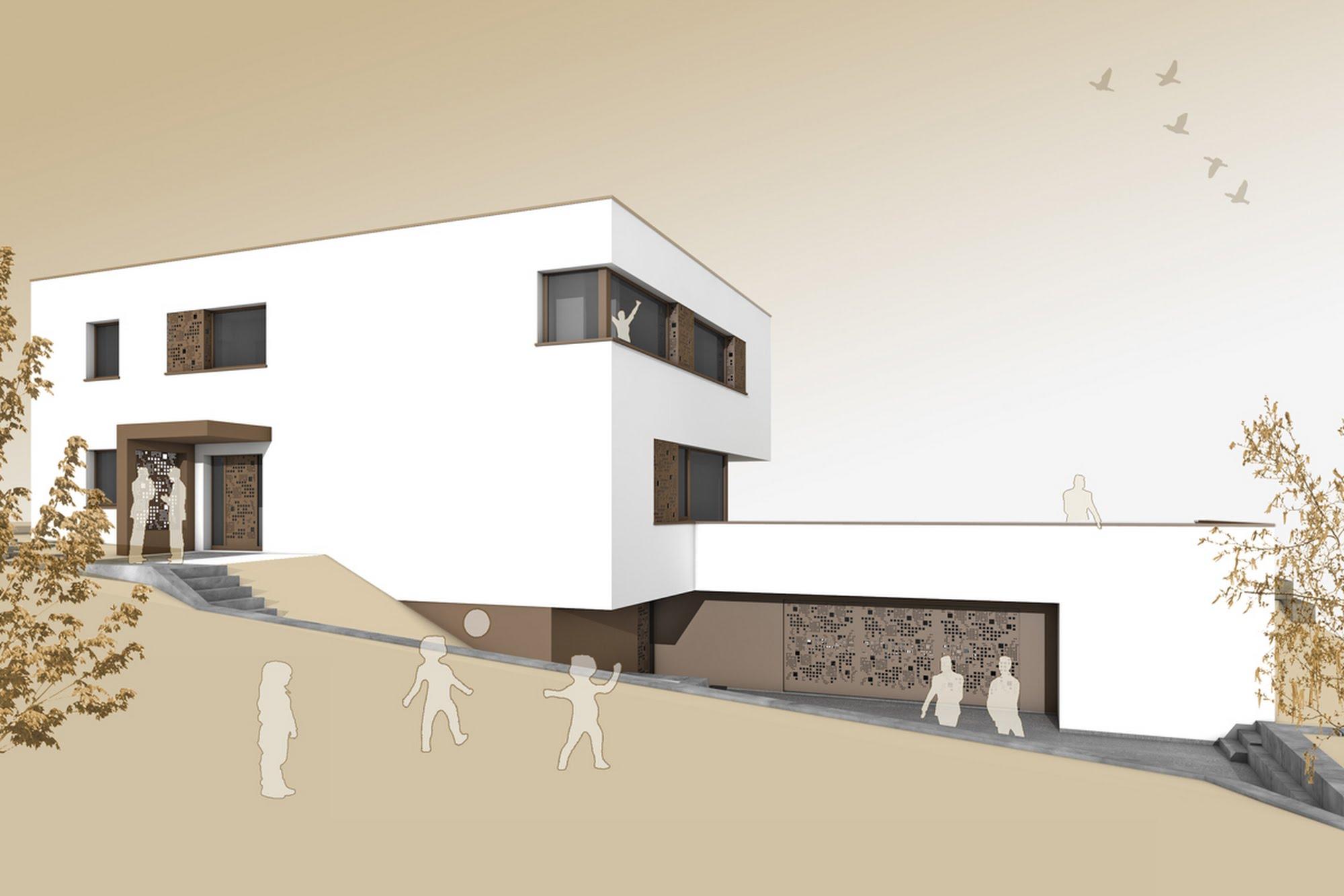 Wohnen EFH EFH am Zürichsee Architektur,Wohnungsbau,Wohnhäuser,Einfamilienhäuser,Mehrfamilienhäuser