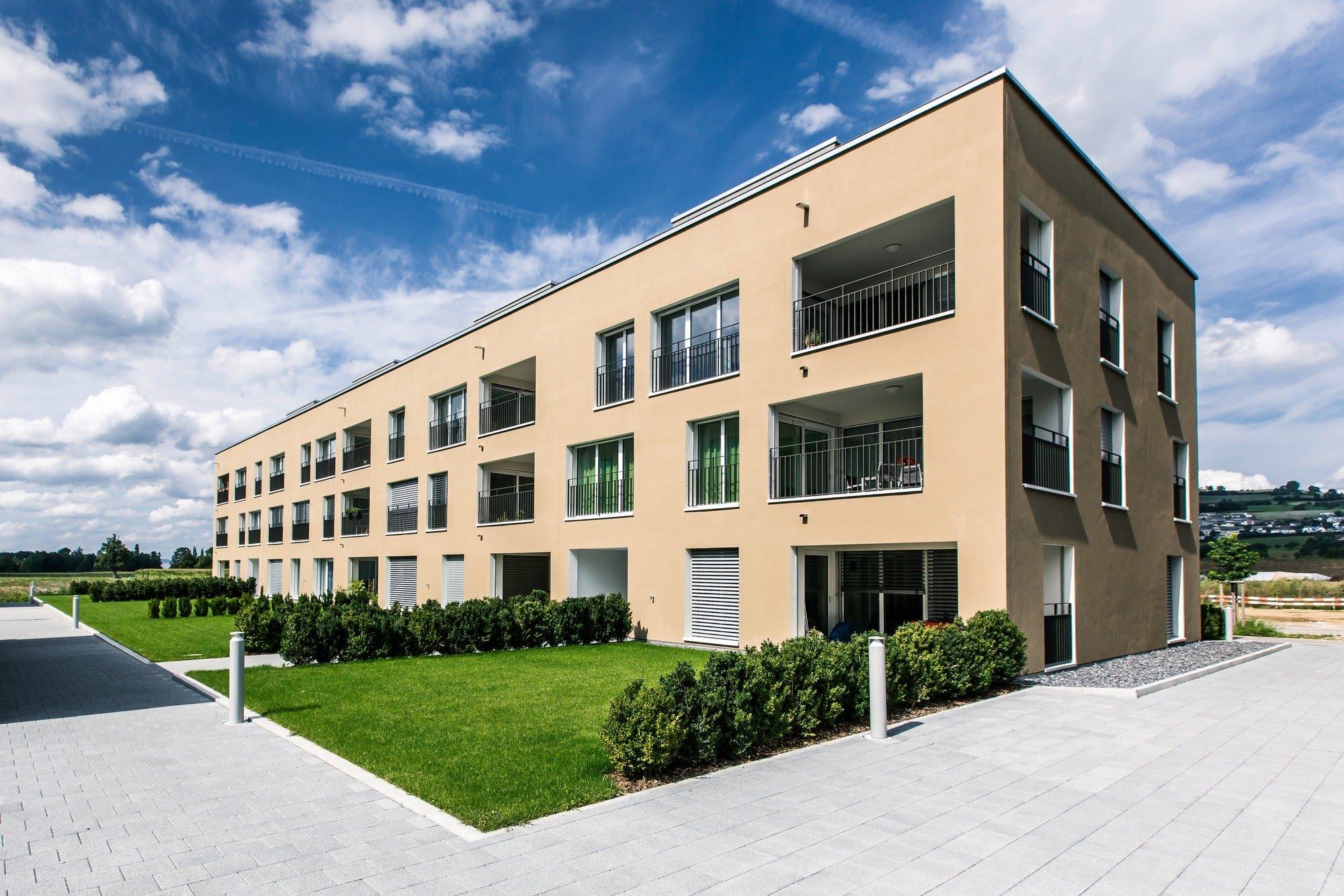 Wohnen MFH MFH Hofstetterfeld in Sursee Architektur,Wohnungsbau,Wohnhäuser,Einfamilienhäuser,Mehrfamilienhäuser