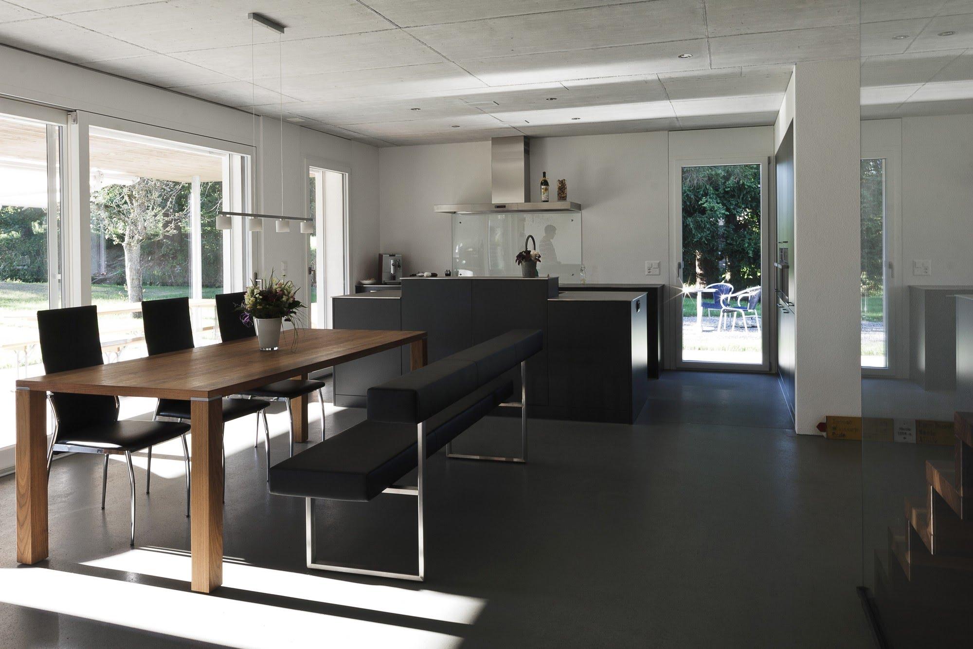 Wohnen EFH EFH in Fulenbach Architektur,Wohnungsbau,Wohnhäuser,Einfamilienhäuser,Mehrfamilienhäuser