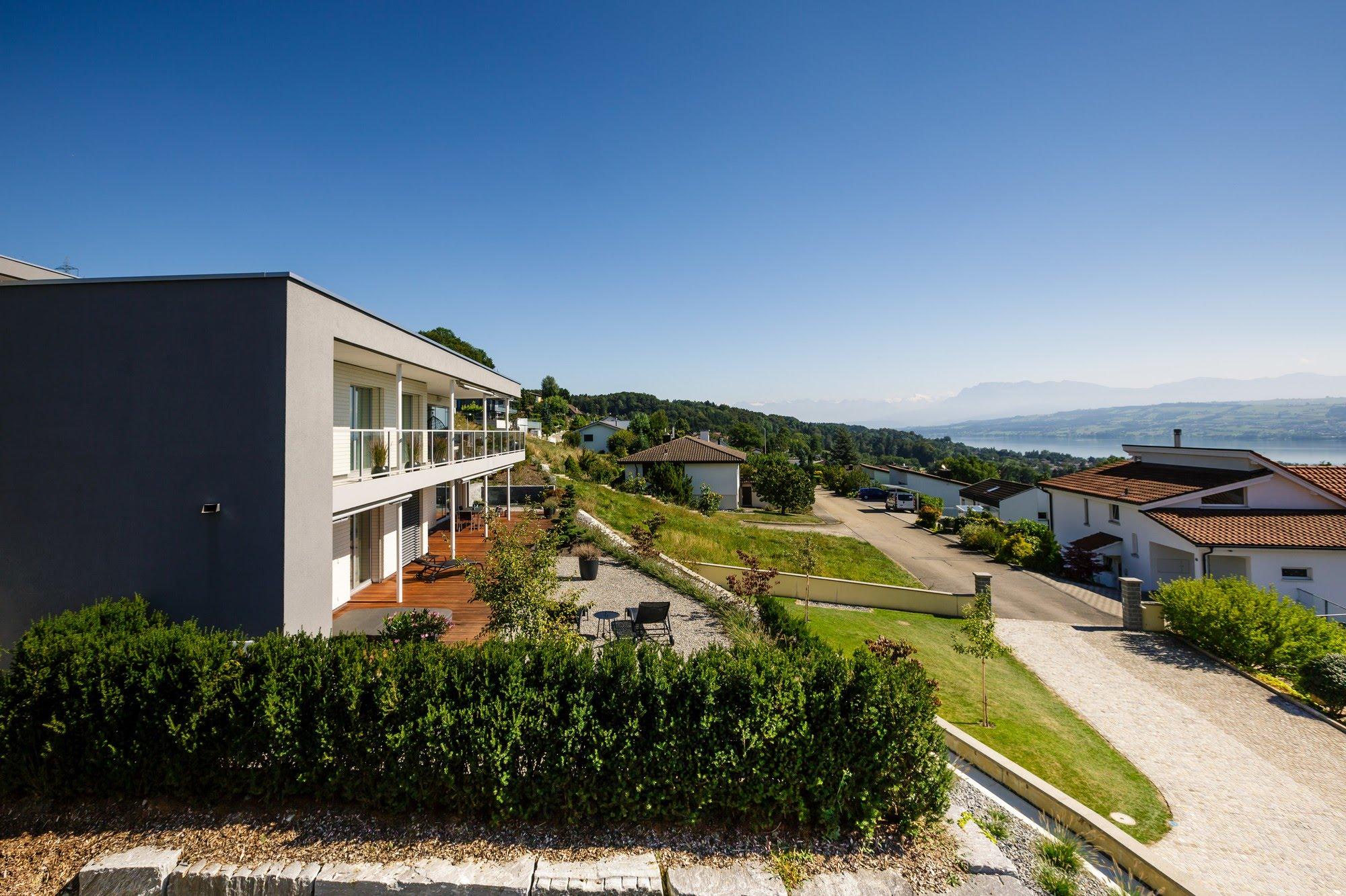 Wohnen MFH Sechs MFH am Tannberg Architektur,Wohnungsbau,Wohnhäuser,Einfamilienhäuser,Mehrfamilienhäuser