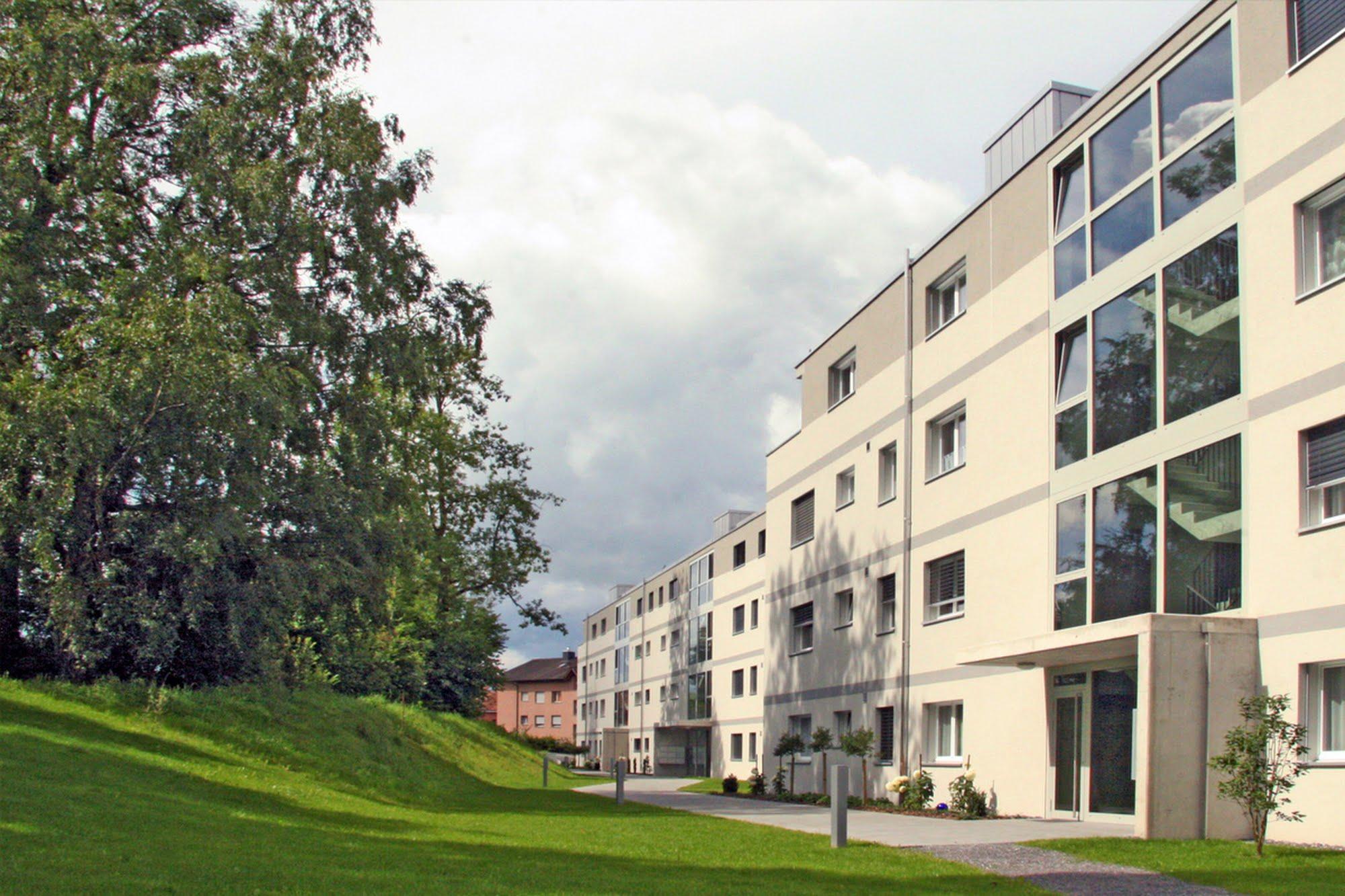 Wohnen MFH Überbauung Arigstrasse Architektur,Wohnungsbau,Wohnhäuser,Einfamilienhäuser,Mehrfamilienhäuser