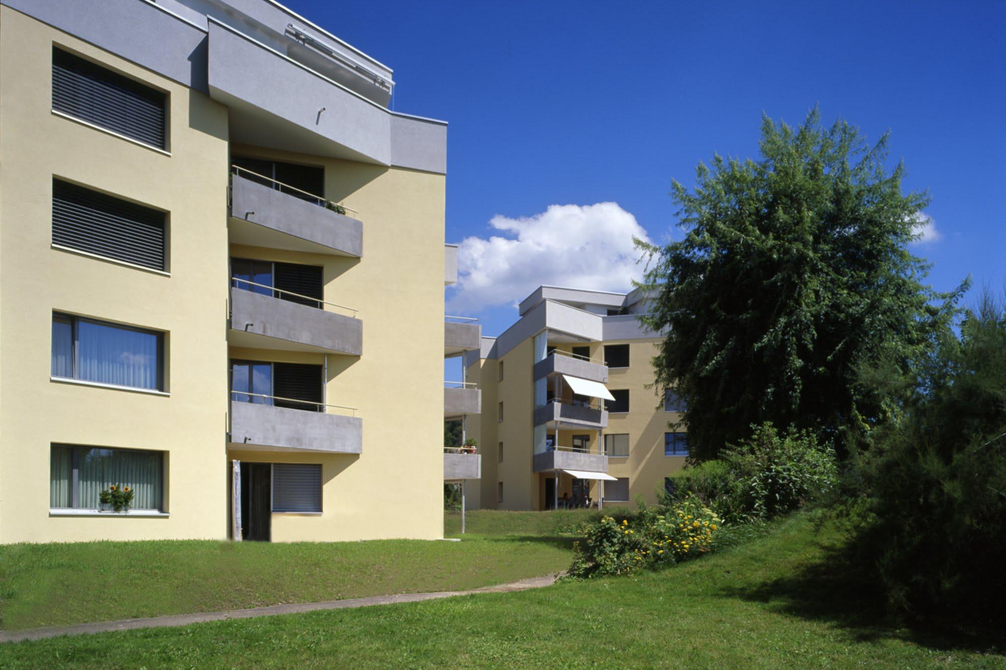Wohnen MFH Sanierung fünf MFH in Schenkon Architektur,Wohnungsbau,Wohnhäuser,Einfamilienhäuser,Mehrfamilienhäuser