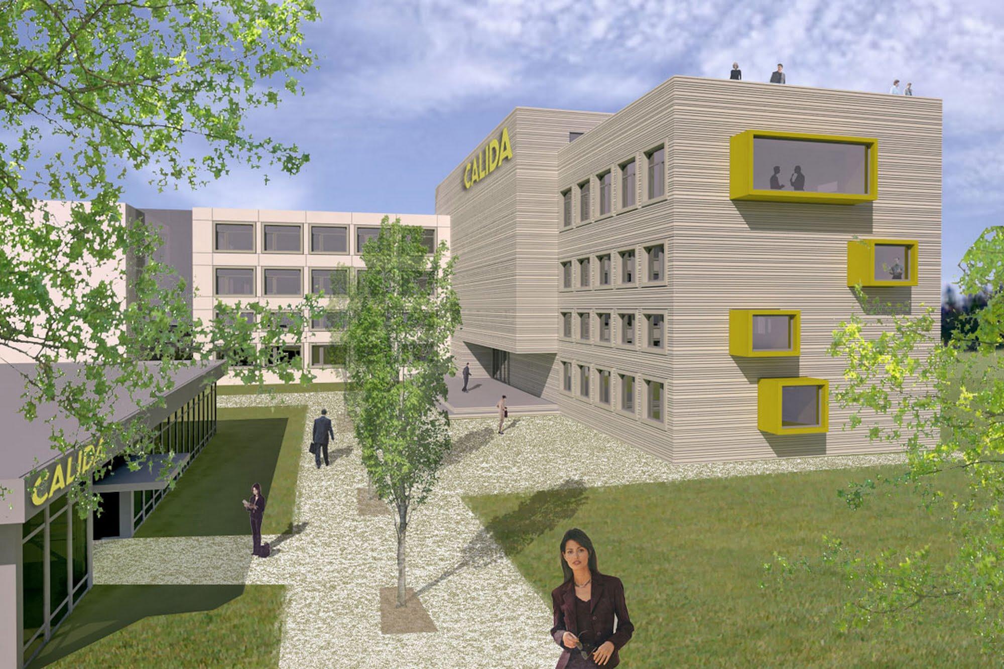Gewerbe Sanierung Industrieareal Calida Architektur,Wohnungsbau,Wohnhäuser,Einfamilienhäuser,Mehrfamilienhäuser