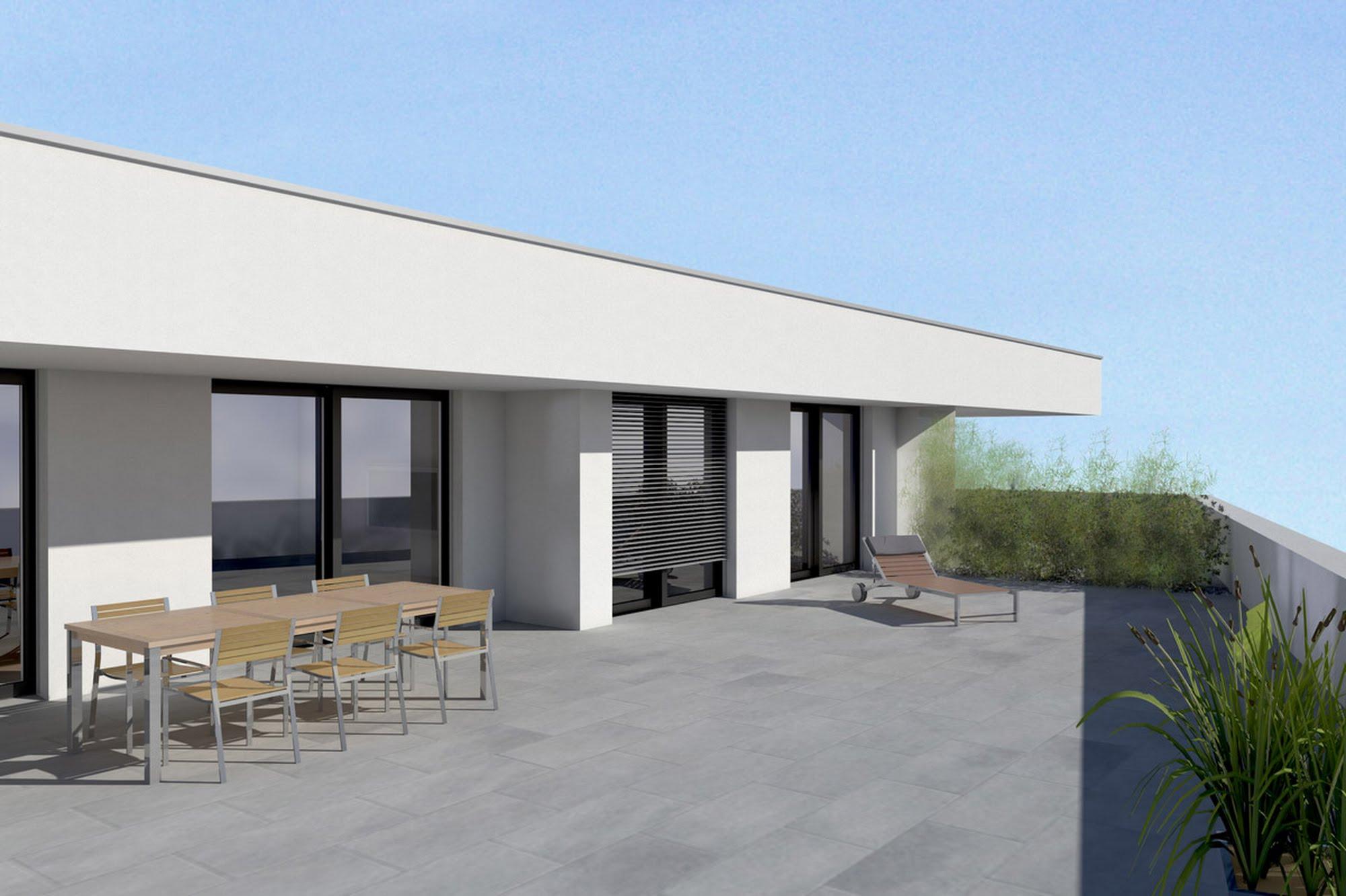 Wohnen MFH,Gewerbe Wohn- und Gewerbegebäude in Schenkon Architektur,Wohnungsbau,Wohnhäuser,Einfamilienhäuser,Mehrfamilienhäuser