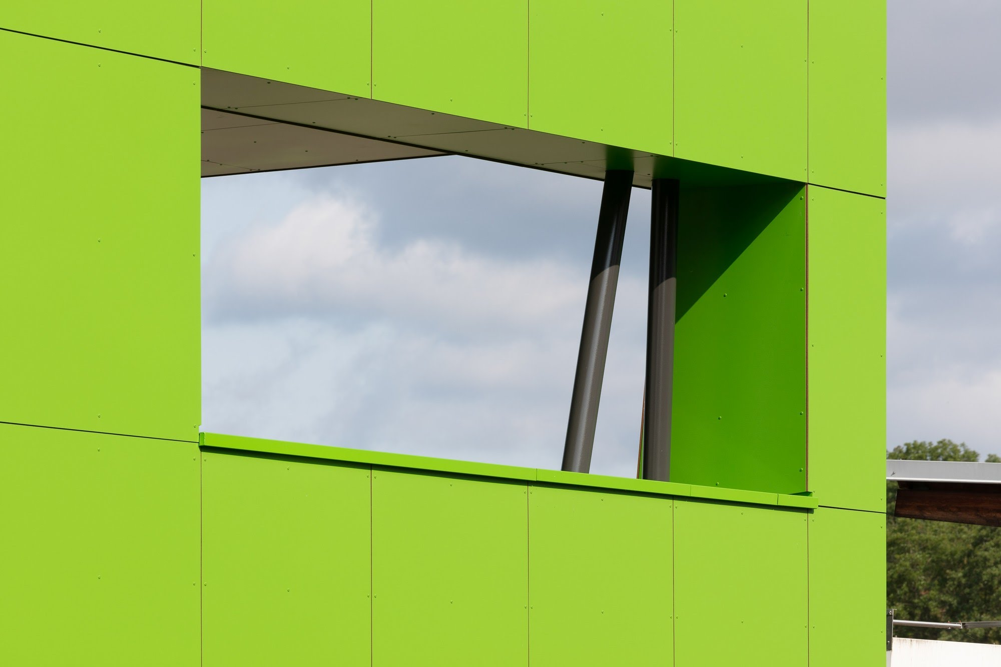 Gewerbe Anbau Aufenthaltsraum Sigmatic in Sursee Architektur,Wohnungsbau,Wohnhäuser,Einfamilienhäuser,Mehrfamilienhäuser