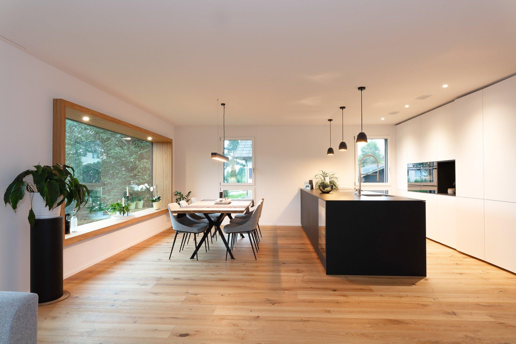 Wohnen EFH EFH Obergeissburg in Willisau Architektur,Wohnungsbau,Wohnhäuser,Einfamilienhäuser,Mehrfamilienhäuser