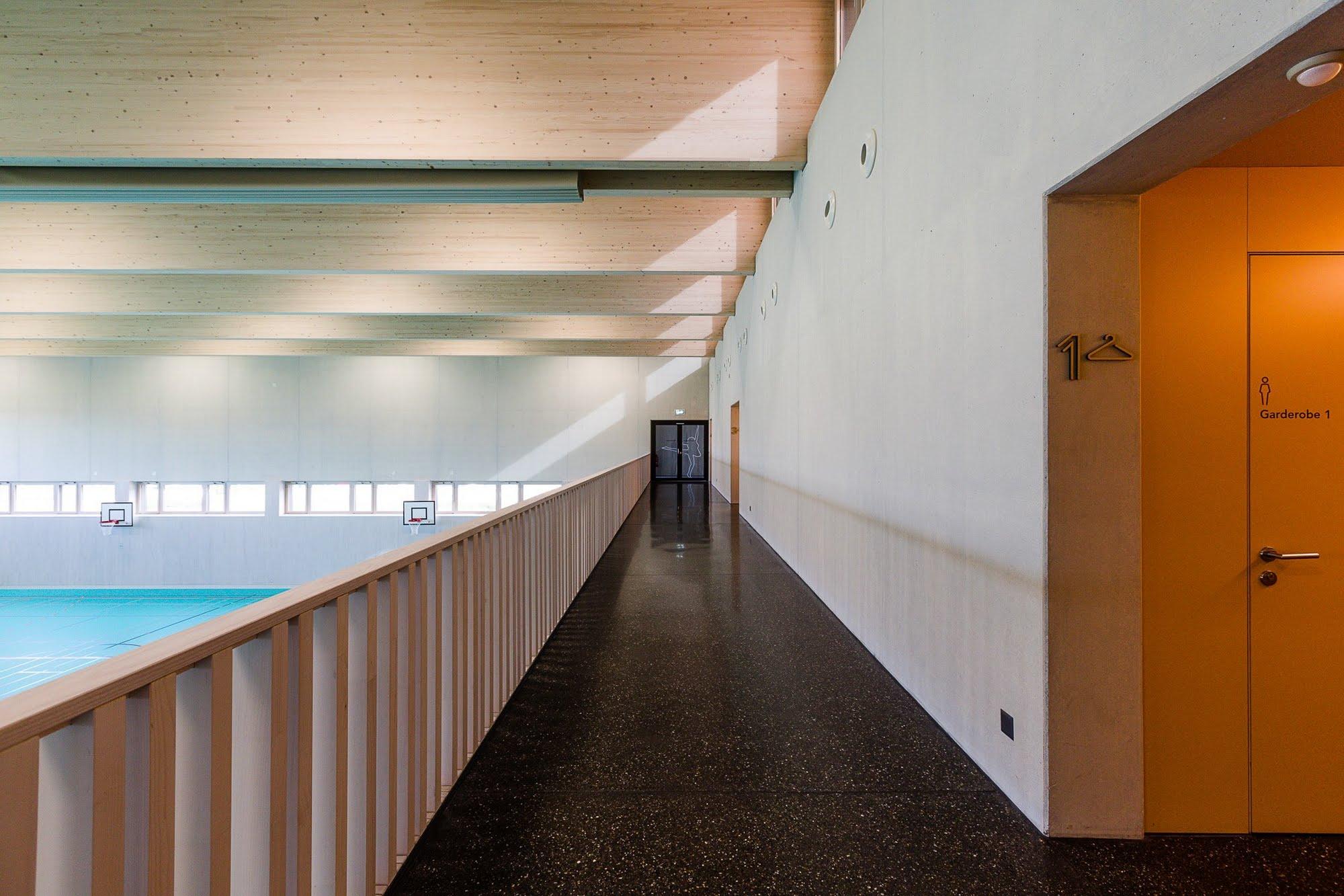 Öffentlich Neubau Doppelturnhalle in Schenkon Architektur,Wohnungsbau,Wohnhäuser,Einfamilienhäuser,Mehrfamilienhäuser
