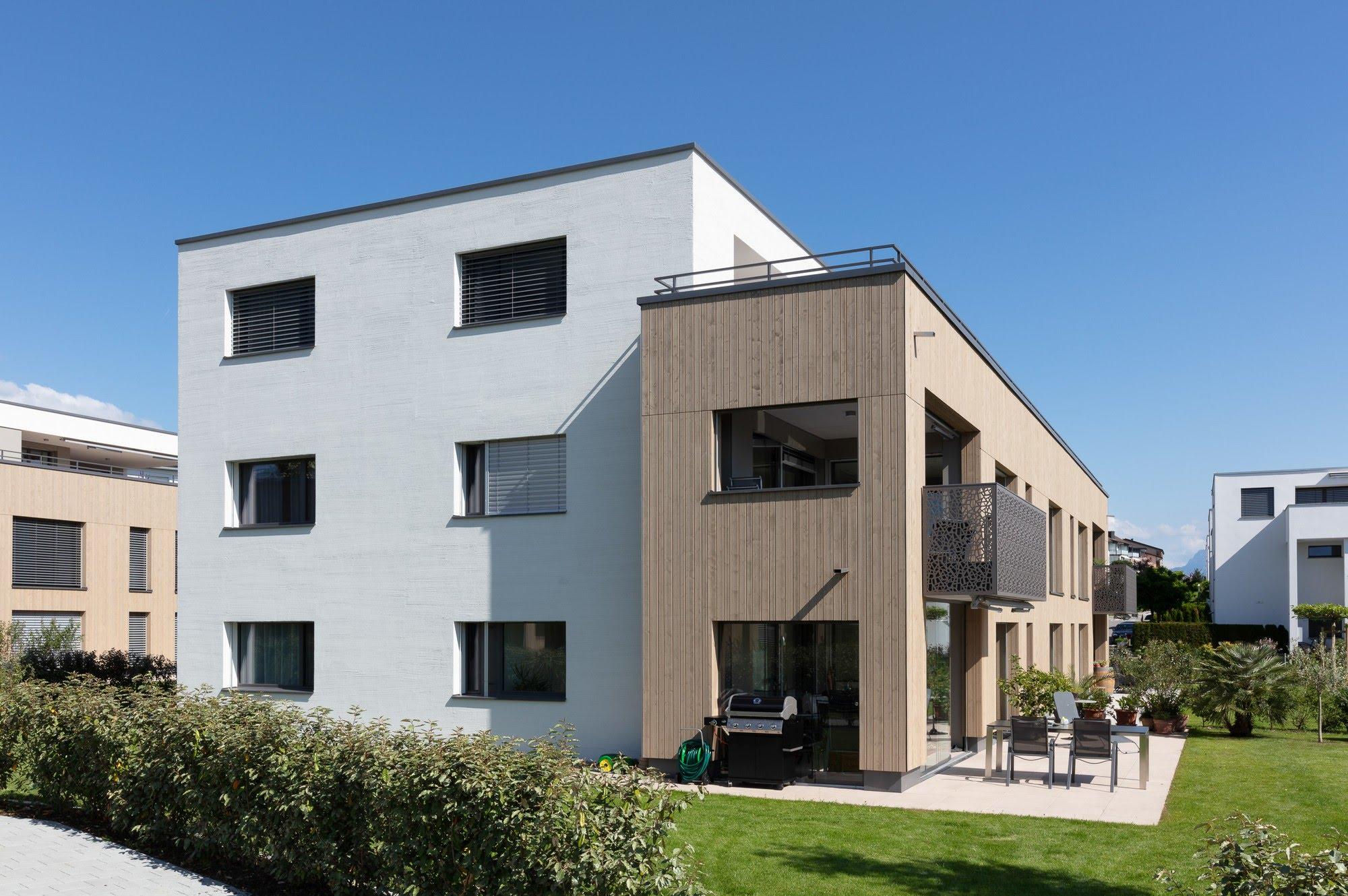 Wohnen MFH Wohnüberbauung in Oberkirch Architektur,Wohnungsbau,Wohnhäuser,Einfamilienhäuser,Mehrfamilienhäuser
