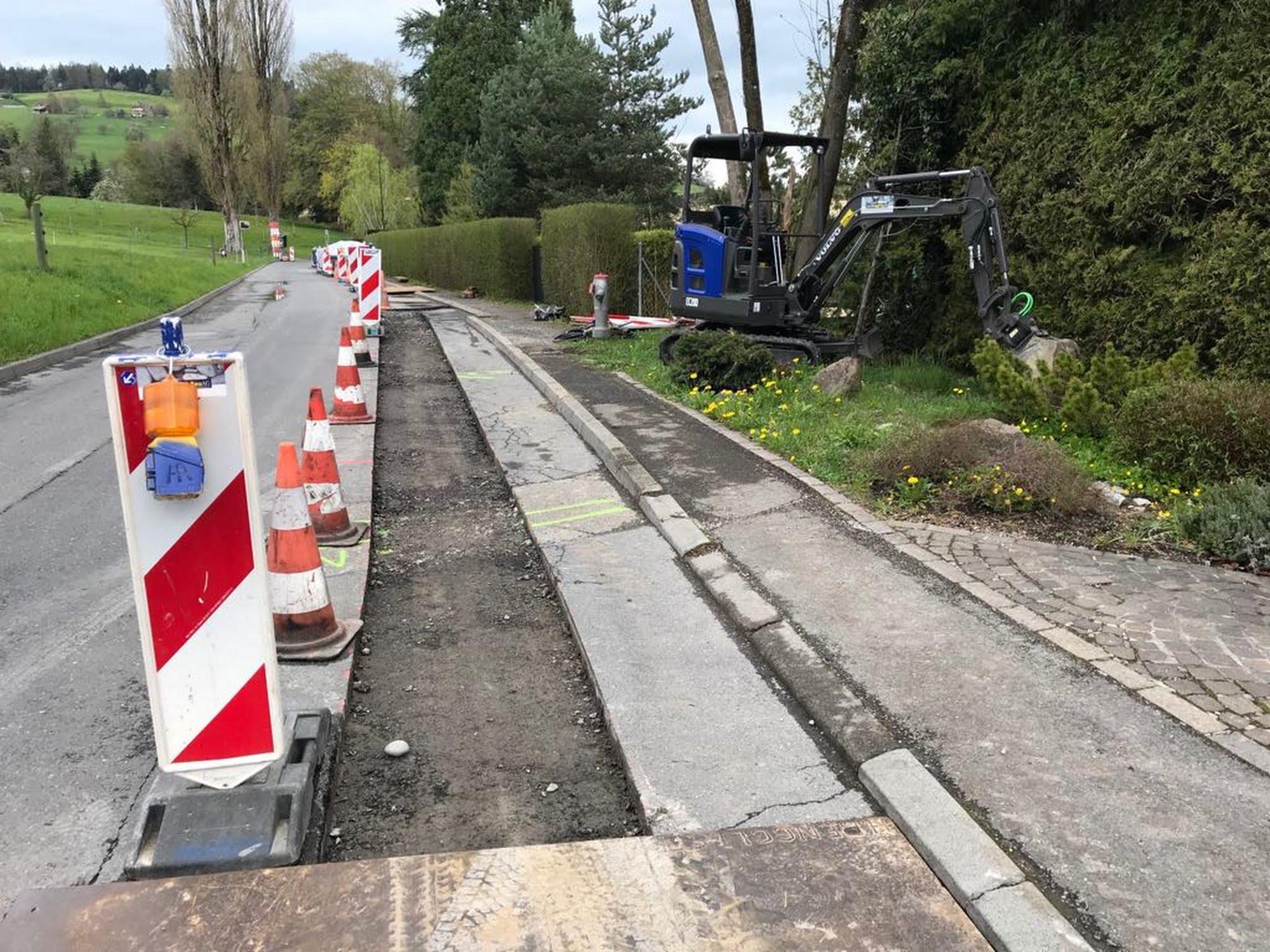 Ersatz Wasserleitung St. Niklausen