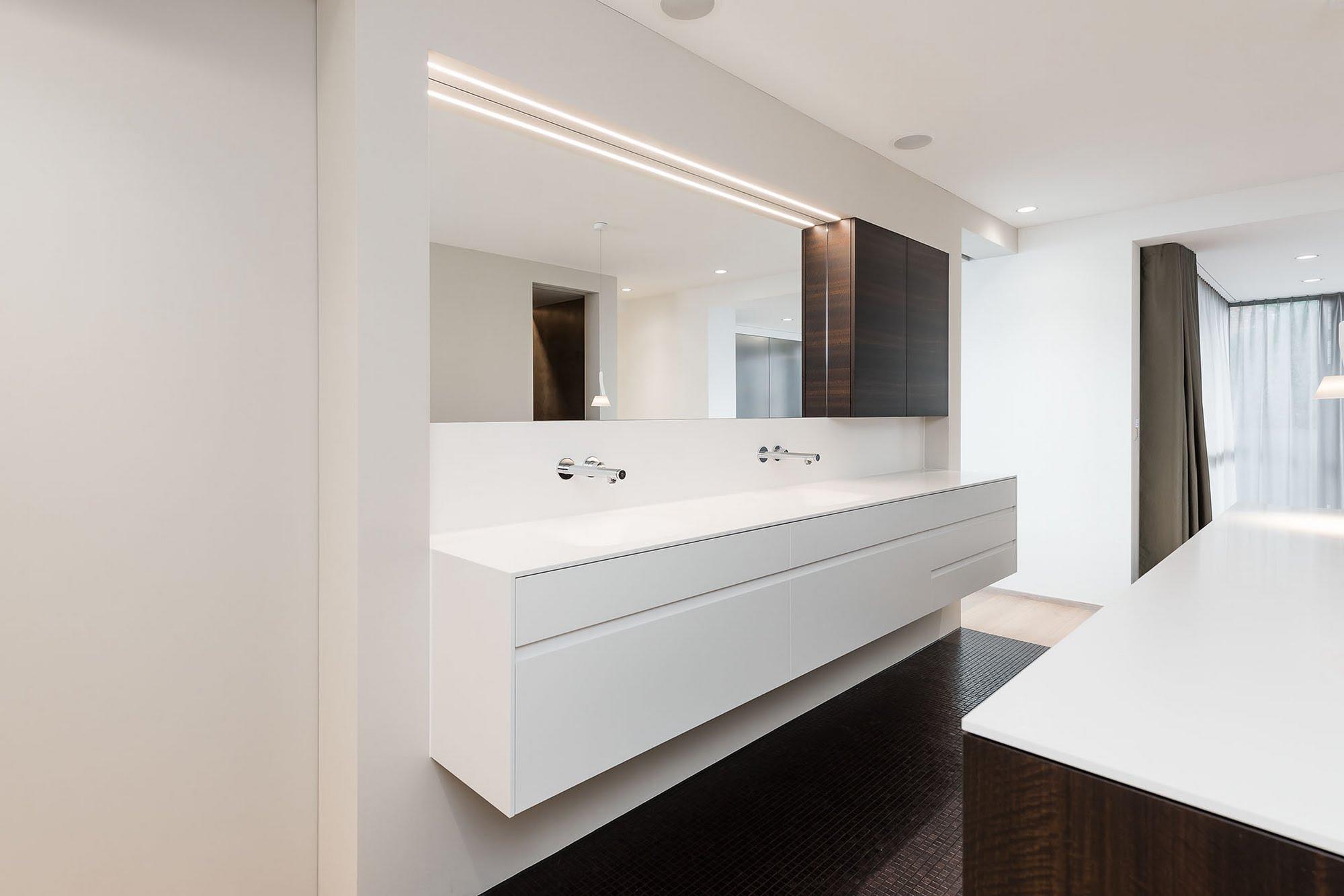Badgestaltung mit wohnlichem Ambiente - Bäder & Badumbau-Küchen werden immer mehr zum Ort der Begegnung - Sursee, Willisau, Aargau, Zentralschweiz, Luzern, Zofingen