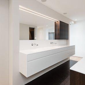 Badgestaltung mit wohnlichem Ambiente - KAWA Design AG ihr Spezialist für Küchen & Küchenbau :: Küchen Raum Bäder, Sursee, Luzern, Zug, Aargau