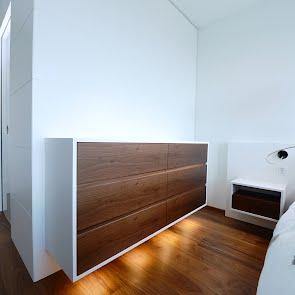 Einbaugarderobe mit Reduit - KAWA Design AG :: Küchen Raum Bäder, Sursee, Willisau, Luzern, Zofingen