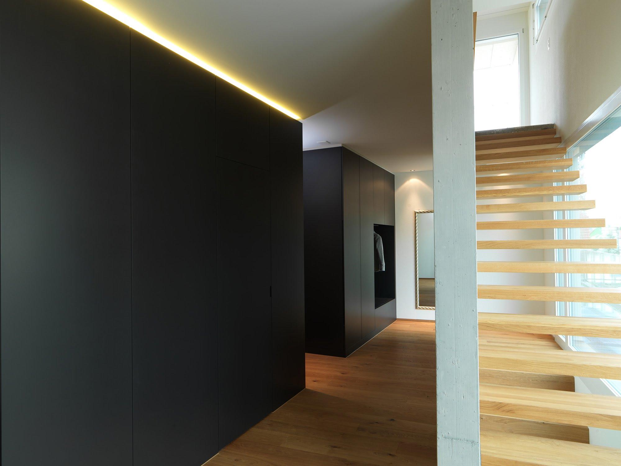 Gesamtkonzept Attikawohnung - Raumgestaltung & Innenarchitektur-Küchen werden immer mehr zum Ort der Begegnung - Sursee, Willisau, Aargau, Zentralschweiz, Luzern, Zofingen