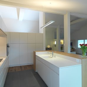 Kücheneinrichtung Dachgeschoss - KAWA Design AG :: Küchen Raum Bäder, Sursee, Willisau, Luzern, Zofingen