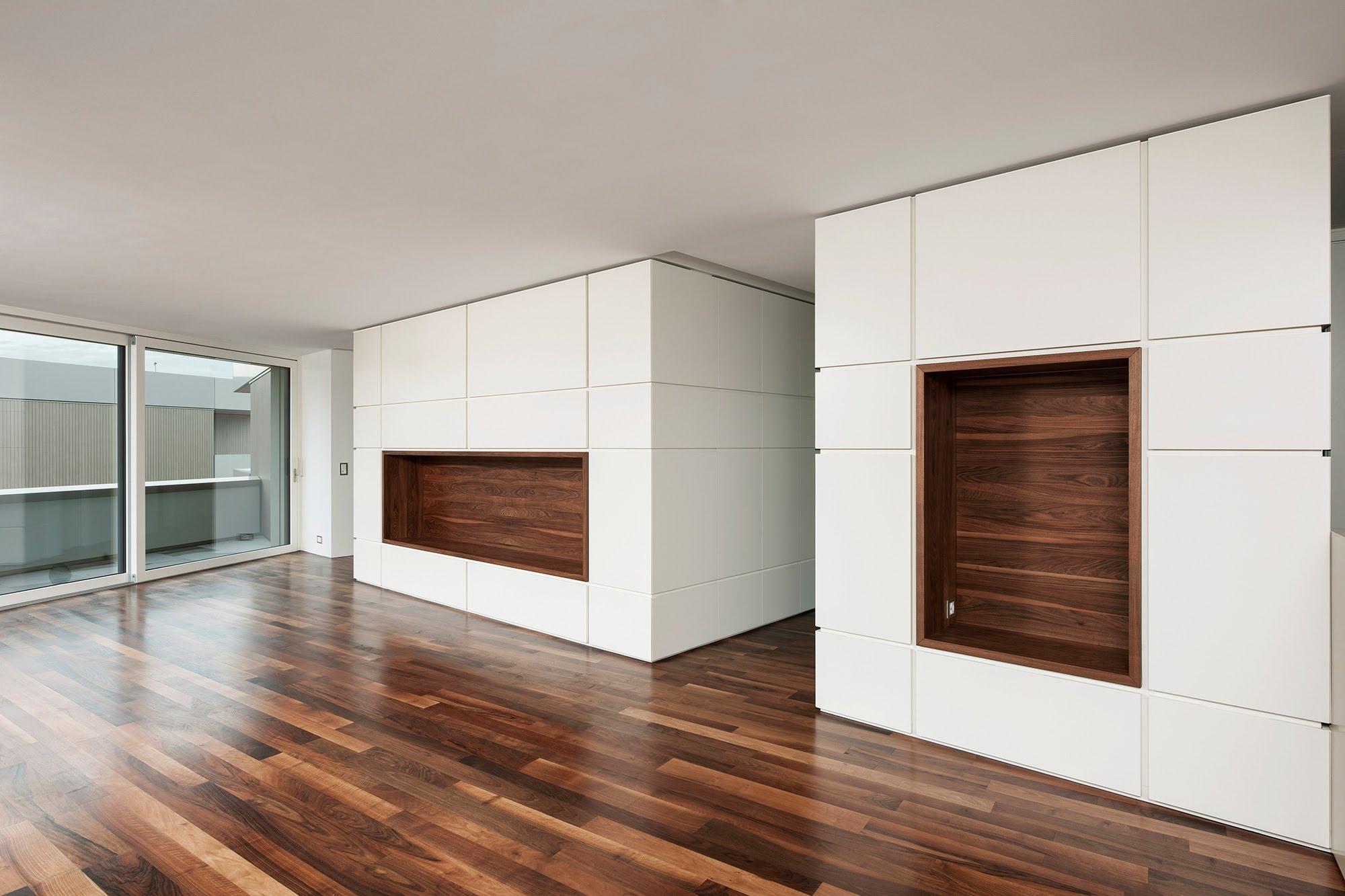 Wohnzimmer-Einbaumöblierung - Raumgestaltung & Innenarchitektur-Küchen werden immer mehr zum Ort der Begegnung - Sursee, Willisau, Aargau, Zentralschweiz, Luzern, Zofingen