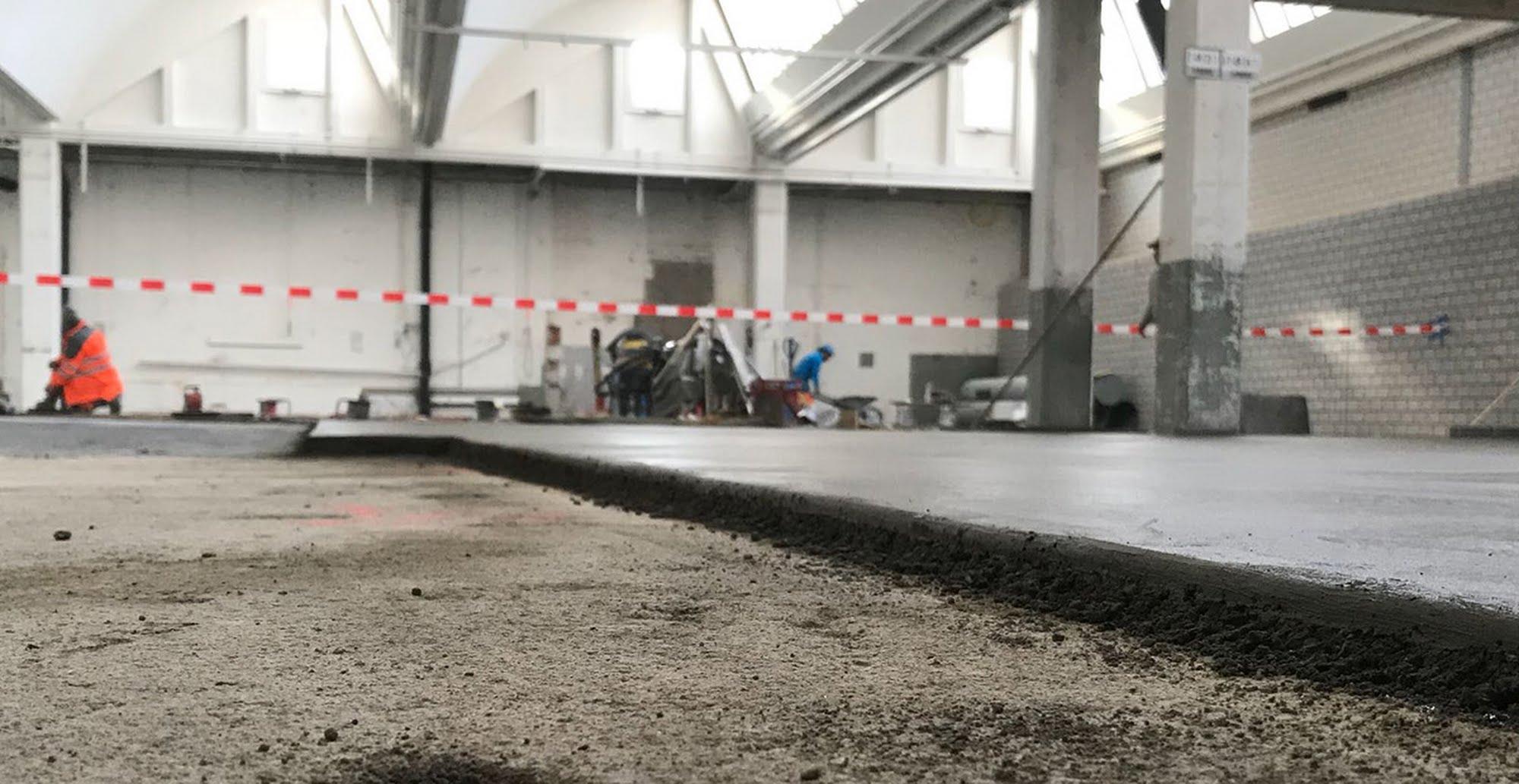 Umbau Lagerhalle V-Zug