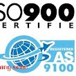 certification AS 9100 and ISO 9001