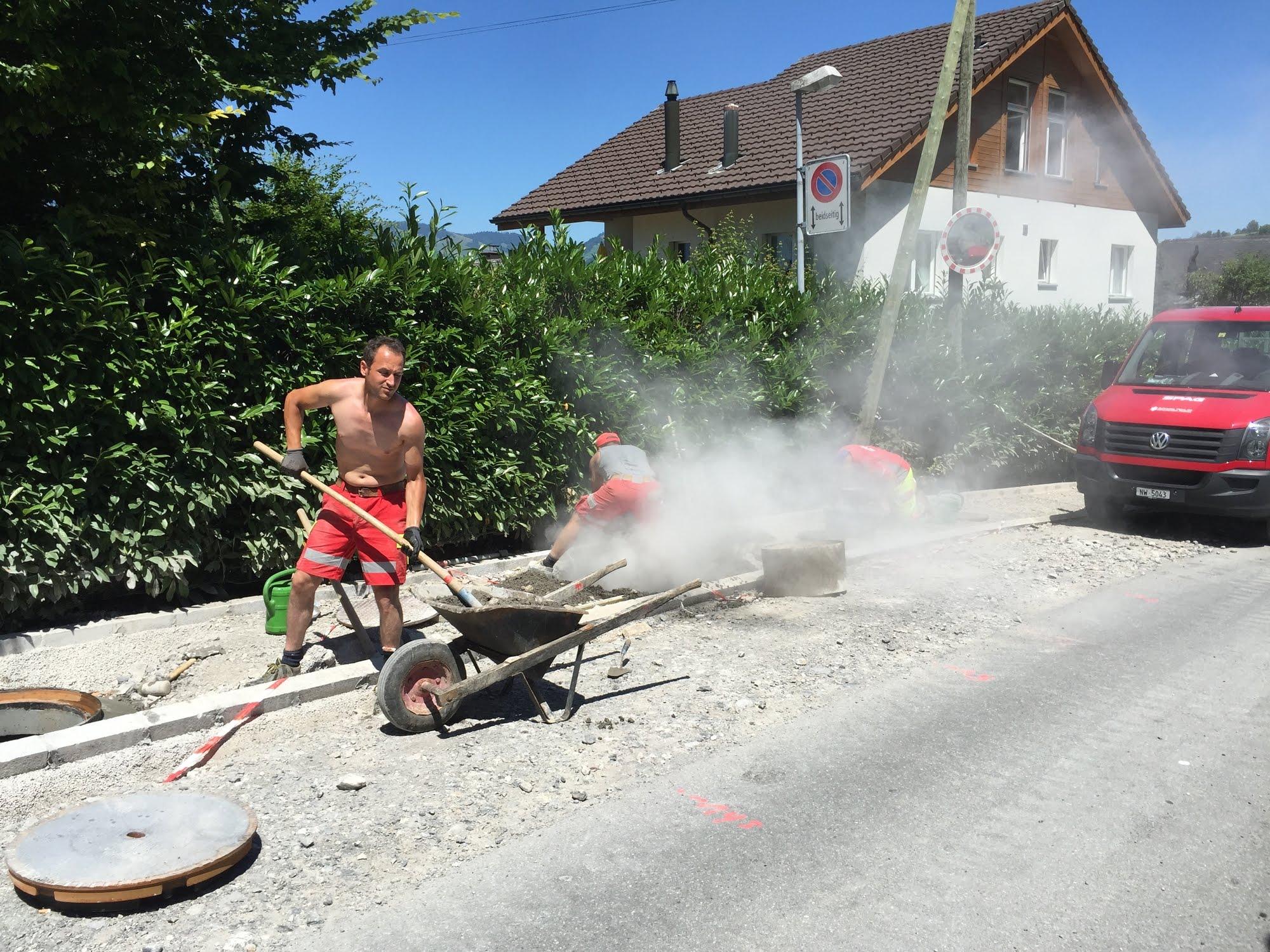 Ausbau Ischenstrasse Etappe 2