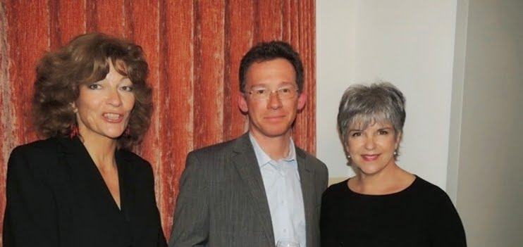 Isabelle Ruf mit Hans-Jürg Rickenbacher und Barbara Locher, beide Dozenten für klassischen Gesang an der Hochschule für Musik Luzern