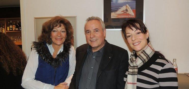 Isabelle Ruf (Direktorin Stadttheater Sursee), Otto Vonarburg (Präsident Musik- und Theatergesellschaft Sursee), Isabelle Flachsmann (Le Théâtre Kriens)