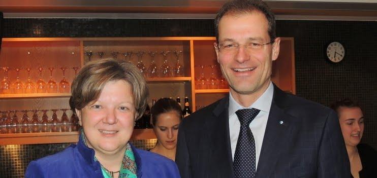 Isabelle Chassot (Direktorin Bundesamt für Kultur), Reto Wyss (Regierungsrat)