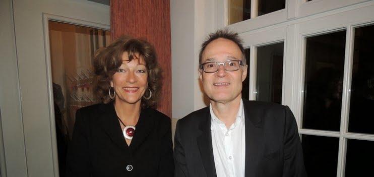 Isabelle Ruf (Direktorin Stadttheater Sursee), Michael Kaufmann (Direktor Hochschule für Musik Luzern)