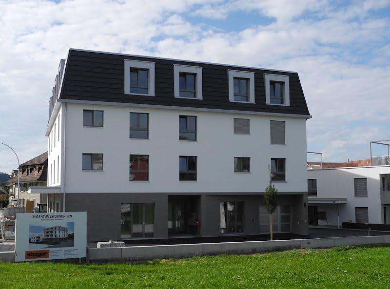 Überbauung Schönau - Eigentumswohnungen und Gewerbeanteil